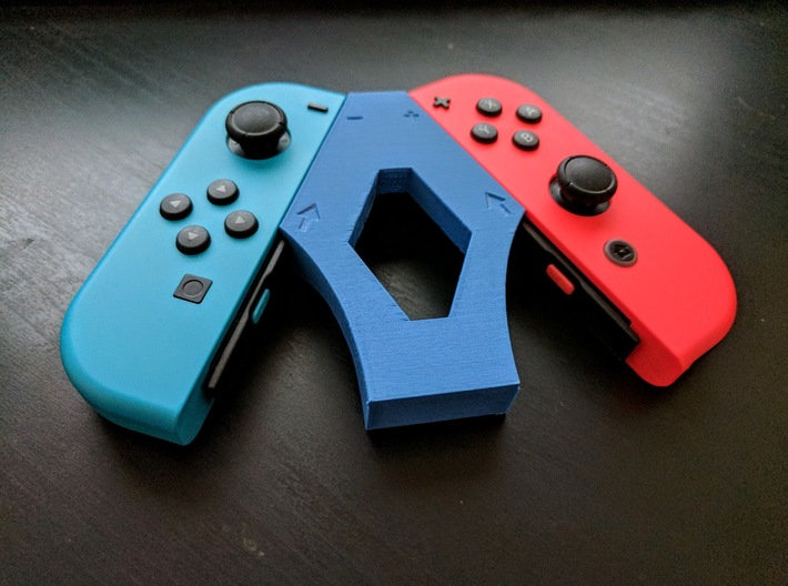 Arrow Joycon Grip 3d printed PLA Prototype
