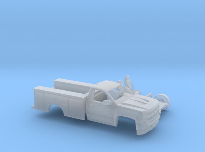 1/160 2016/17 Silverado Single/Utility Kit 3d printed
