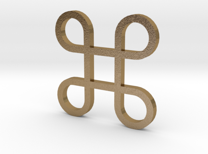 Lucky Charms - Bowen Knot 3d printed