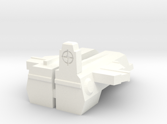 TR: Rodpistol add-on for Hot Rod 3d printed