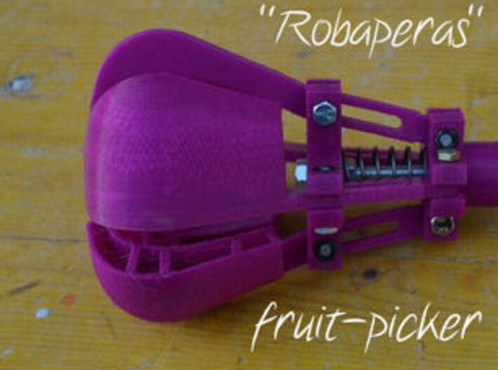 """ROBAPERAS"" fruit picker 3d printed"