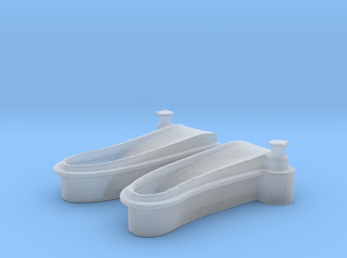 1/125 USN Windlass Foredeck 3d printed