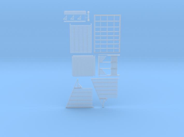 Nanya Shelter shed (Type 1) 3d printed