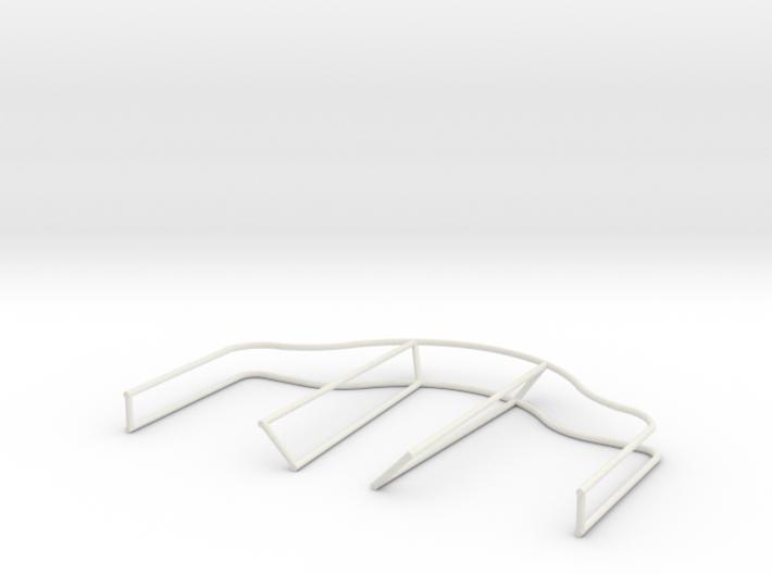 2cm Twin Flak Depression Rails 3d printed