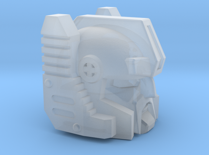 Rollin' Rancher's Head 3d printed
