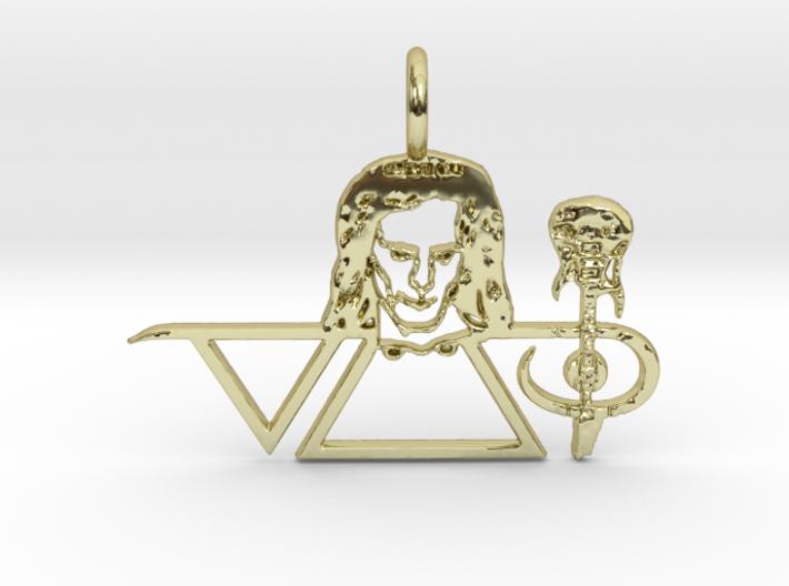 Steve Vai Pendant 3d printed