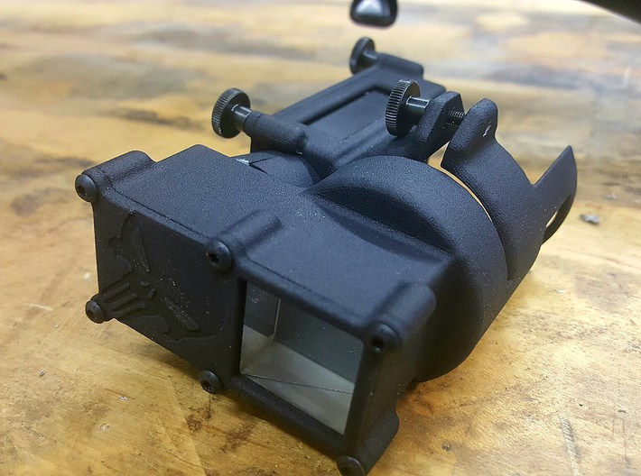 Mobius 2 Scope camera mount  PUNISHER 3d printed