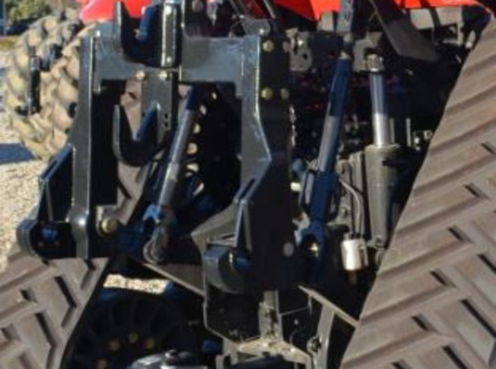 1/64 Case IH moveable 3 point hitch with Quick Hit 3d printed