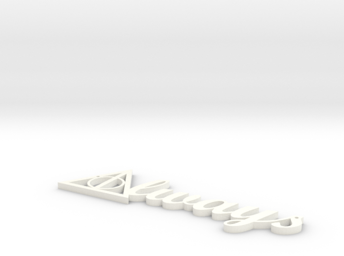 Always Necklace 3d printed