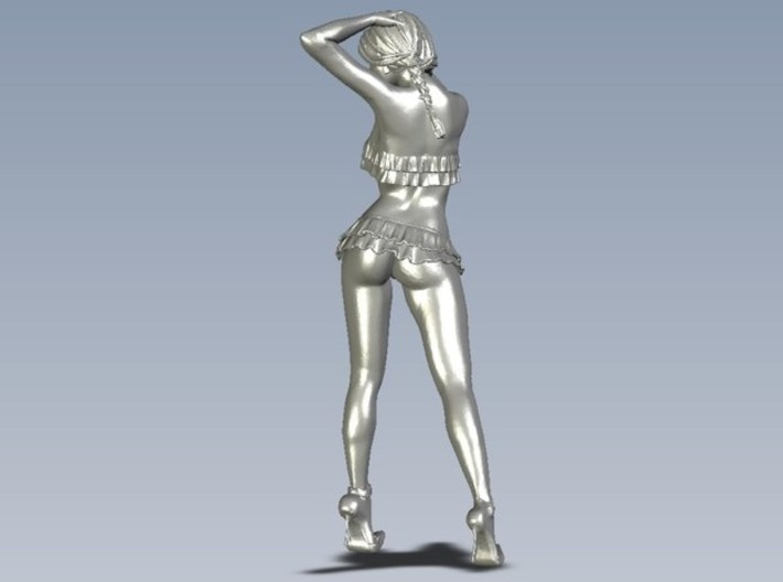 1/15 scale nose-art striptease dancer figure A x 3 3d printed