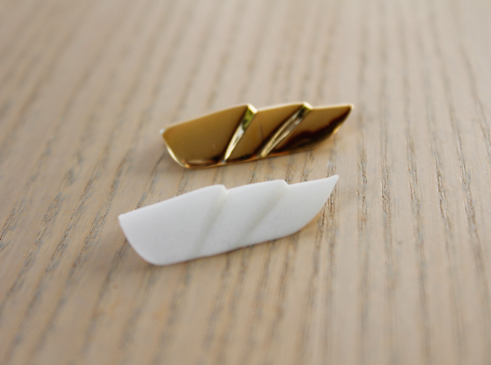 Dragon Scale - Finger Nail Jewellery 3d printed