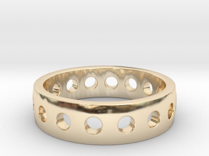 """Ring """"King"""" 3d printed"""