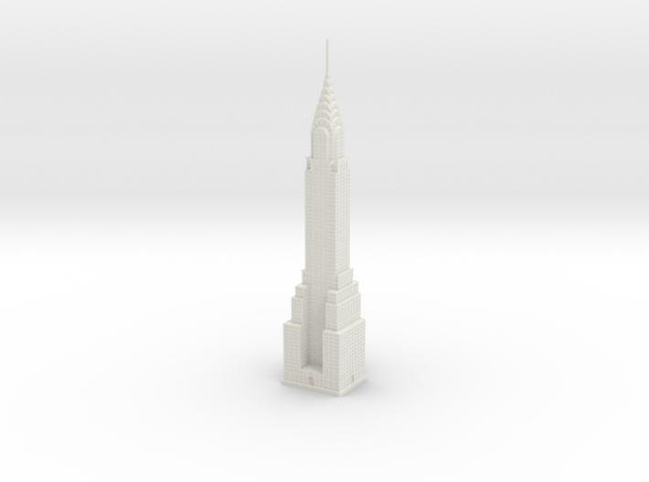 Chrysler Building (1:2000) 3d printed