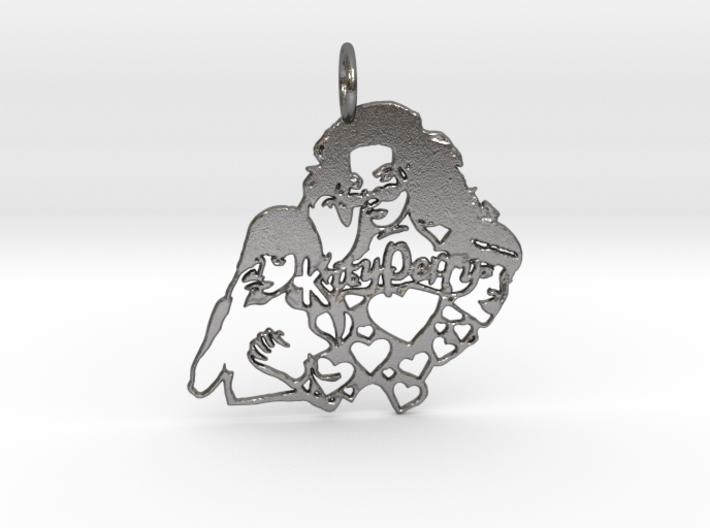Katy Perry Fan Pendant 3d printed
