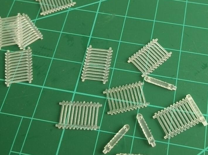 50 pezzi Staccionata FS 3d printed pannelli e paletti separati