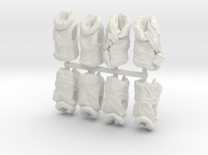 1-24 USN Hanged Kapok Lifevest Set1-0 3d printed