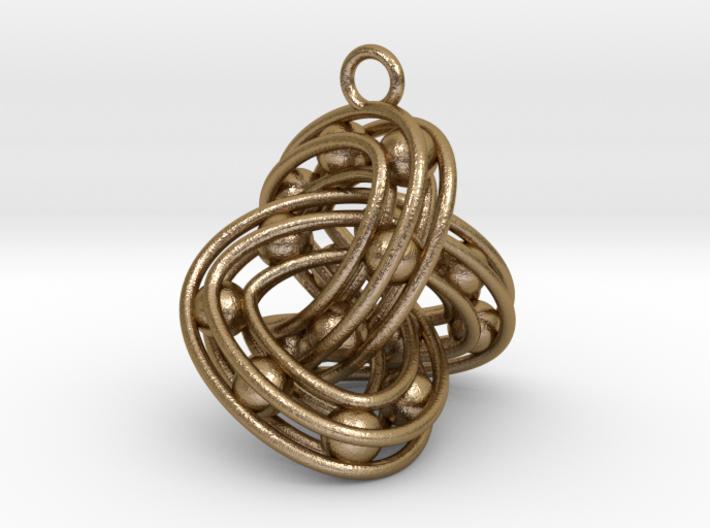 Trefoil-Parametrisch-Penta 3d printed