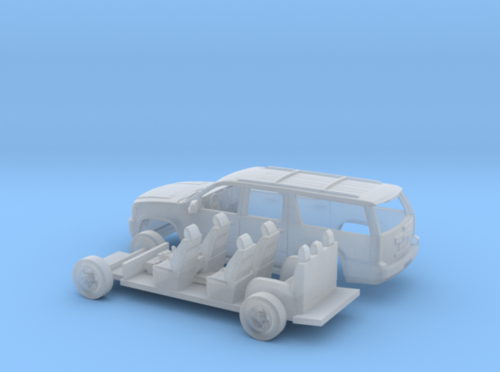 1/87 2007-14 Chevrolet Suburban Kit 3d printed