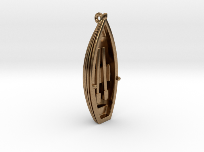 Small Boat Pendant 3d printed