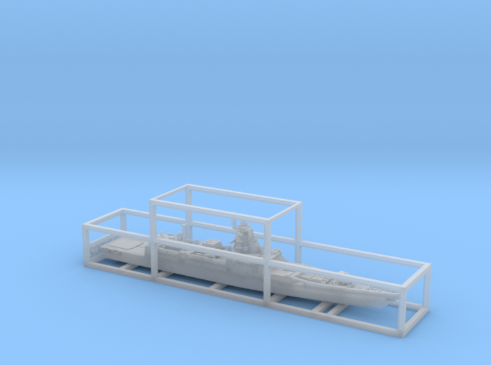 1/900 RFS Admiral Gorshkov-class frigate 3d printed