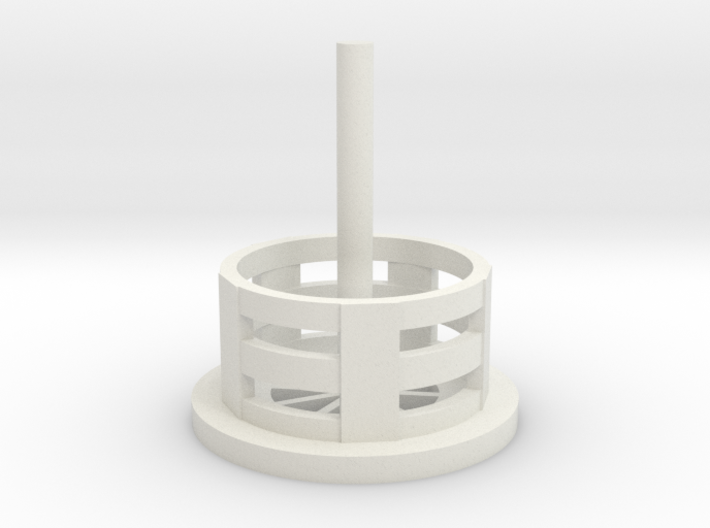 Ultrasonic Jewelry Cleaner Replacement Basket 3d printed