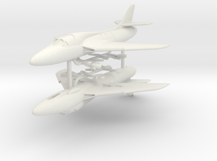 1/200 Hawker Hunter T.7 (x2) 3d printed