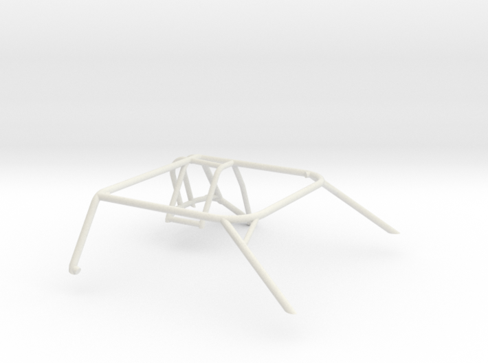 1/25 Slot Car Generic Roll Cage 3d printed