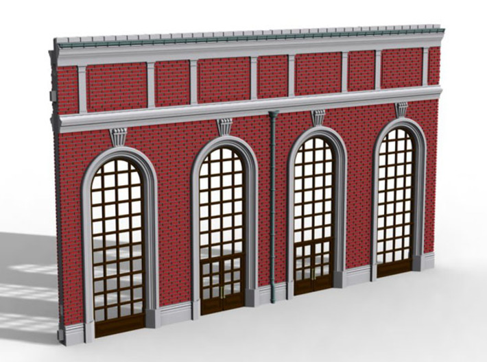 NGG-Mext01b - Large Railway Station 3d printed
