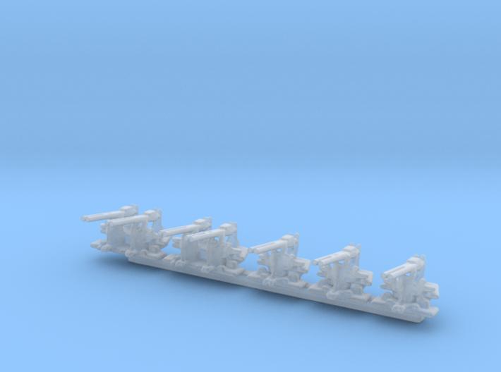 1/306 Scale 40mm Bofor Set For Revell Fletcher 3d printed