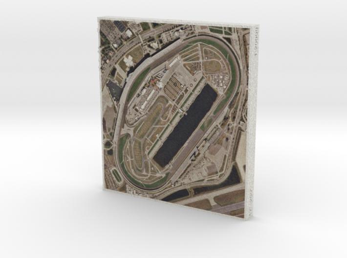 Daytona Int'l Speedway, Florida, USA, 1:20000 3d printed