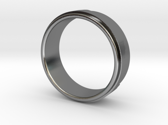 Mountain Ring (or race profile!) 3d printed
