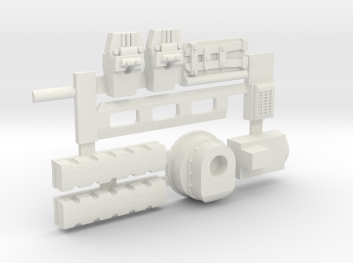 Rocker covers and much much more! for Y-Wing 3d printed White!
