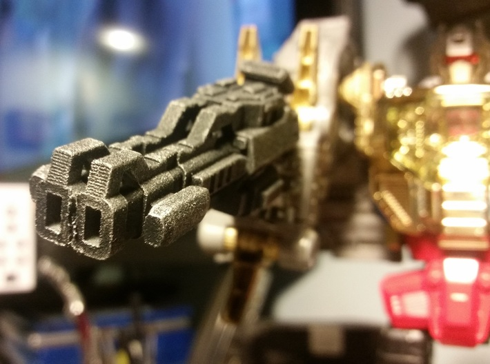 """""""Lockout"""" Carbine RESIZED 5mm post 3d printed Image by tkrbob4093 (Masterpiece Grimlock)"""