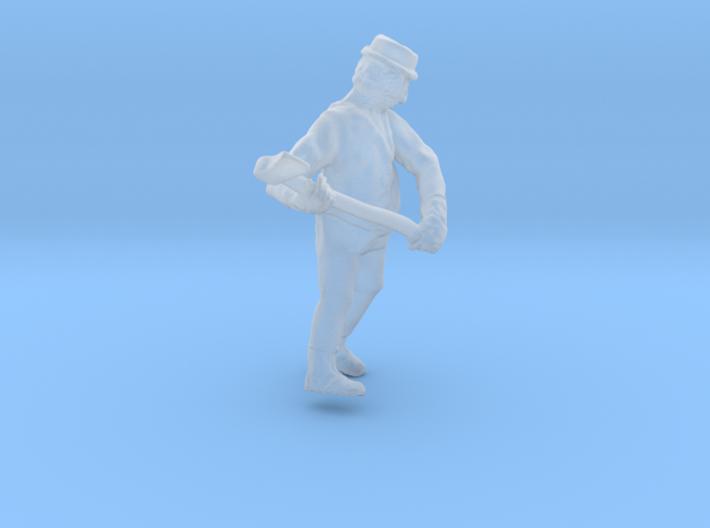 HO LOGGING Feller #1 Chopping down tree Figure 3d printed