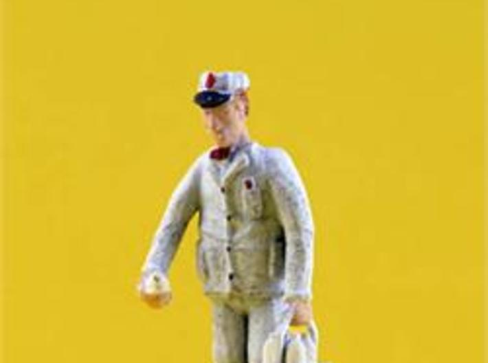 HO Scale MILKMAN out for Delivery Figure 3d printed HO Scale MilkMan with Milk Delivery