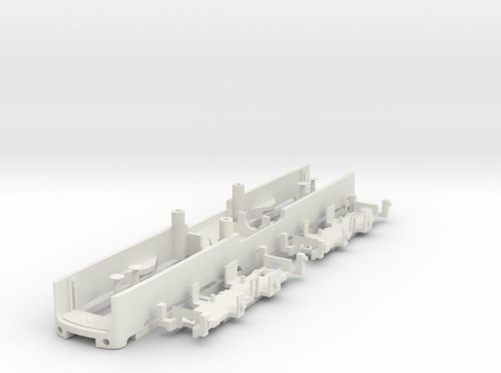 TT Gauge BR150 E50 Sprue 2 - Frame 3d printed