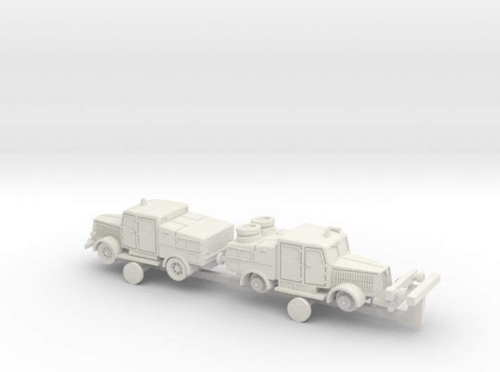 German Faun ZR ZRS Tractors 1/144 3d printed