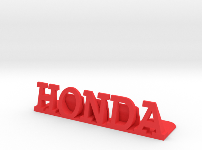 Honda Desktop Picture Holder 3d printed