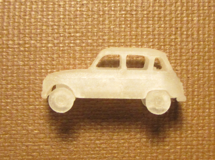 Renault 4 Hatchback 1:160 scale (Lot of 6 cars) 3d printed X 6