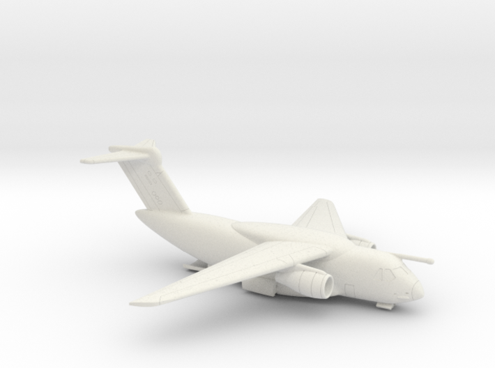 022F KC-390 1/350 WITH OPEN RAMP 3d printed