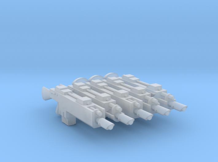 G3s Lasguns Sample 3d printed