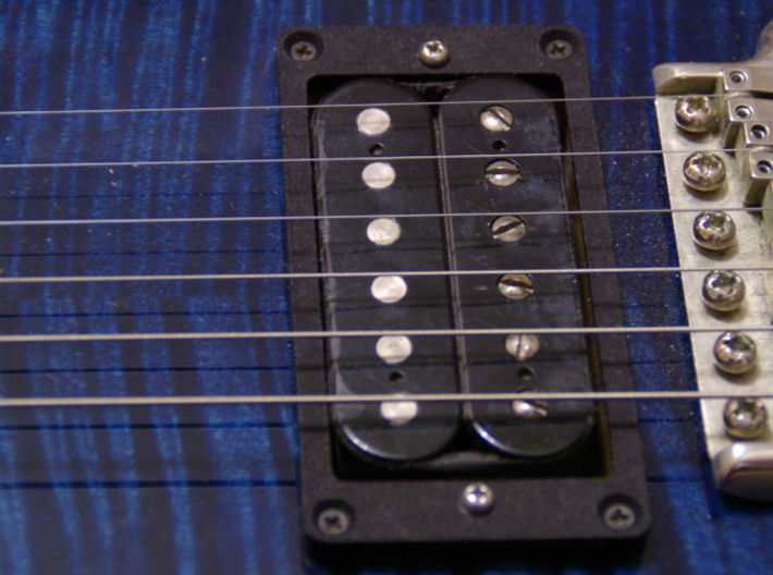 Pickup Mounting Ring for PRS - pair 3d printed Installed on a PRS Custom 24
