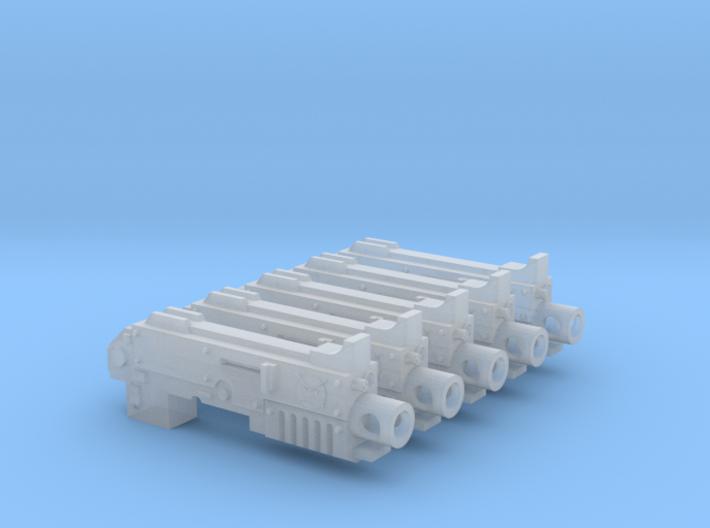 Angry Marines RFB Bullpup Thunderbolt Gun #3 3d printed
