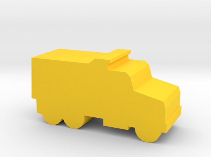 Game Piece, Dump Truck 3d printed