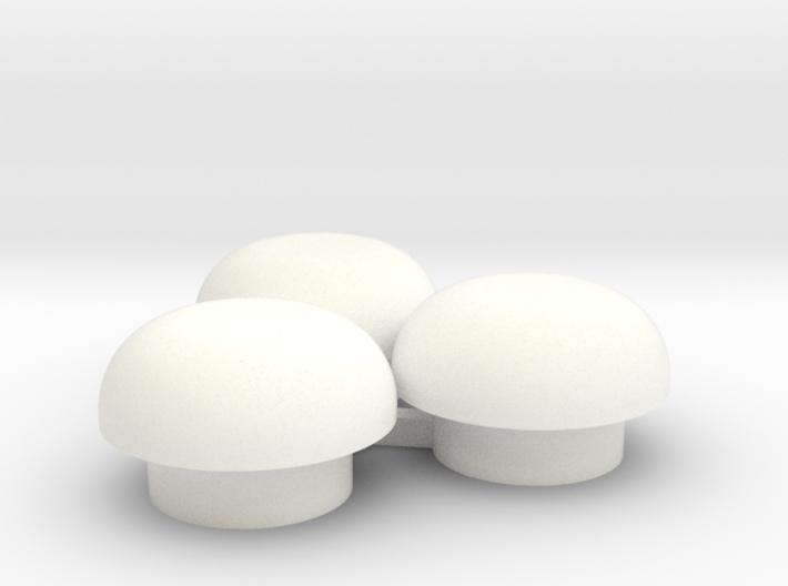 "1/64 Bin Roof Vent - ""mushroom"" style 3d printed"