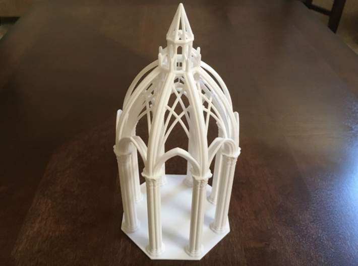 Gothic Chapel 3 Upper 3d printed Chapel with top and bottom