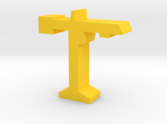 Game Piece, Construction Crane 3d printed