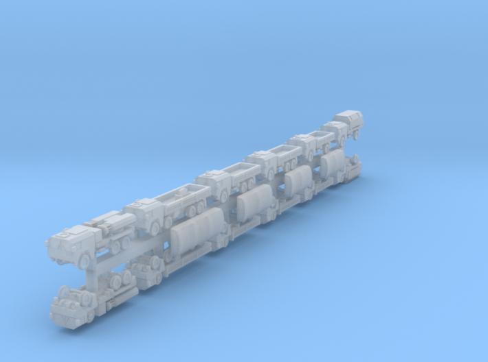 1/700 MAN mil gl x12 (FUD) 3d printed