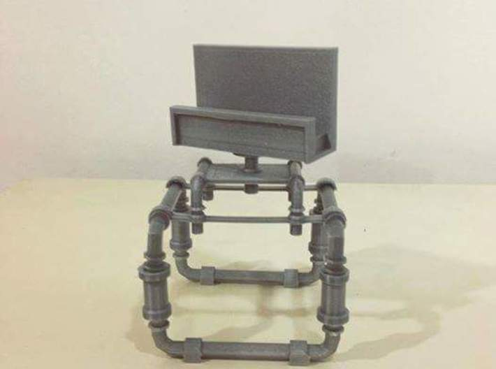 Industrial Smart Phone Stand 3d printed