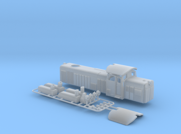 SM42 New Revised Z Scale 3d printed SM42 Diesel Electric Engine Z scale